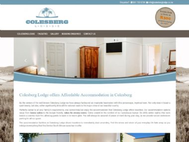 Colesberg Lodge<br>