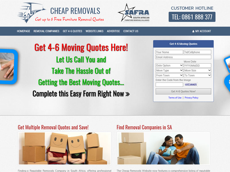 Furniture Removals Alliance<br><a href='http://www.cheapremovals.co.za' target='_blank'><small>www.cheapremovals.co.za</small></a>