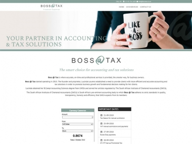 Boss @ Tax<br>